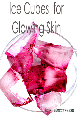Ice Cube Facial - Anti Aging Skin Beautifier