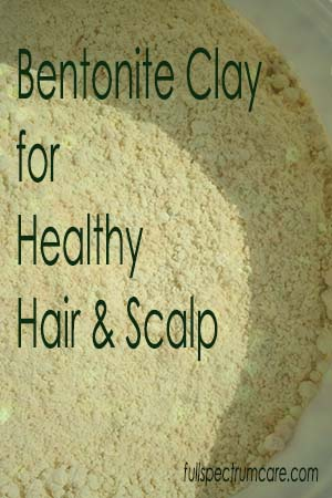 Bentonite Clay for Hair Treatment